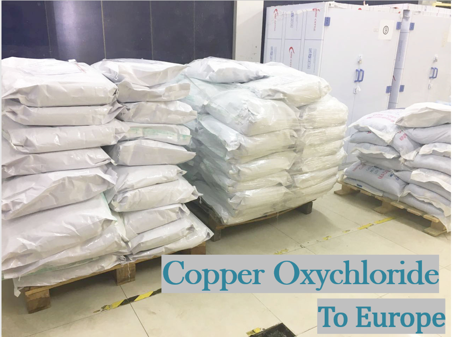 Copper Chloride to Europe