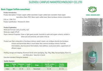 Copper Sulfate Series